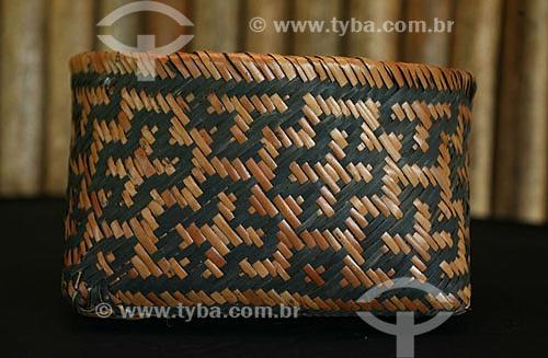 TYBA ONLINE Assunto Artesanato do tribo Waimiri
