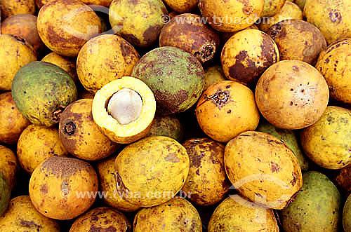 Bacurí (fruta do Norte) - Mercado Ver-o-Peso - Belém - PA - Brasi  - Belém - Pará - Brasil