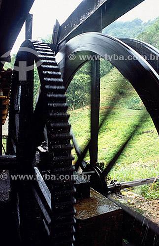 Engenho de Cachaça - moenda de Cana de Açúcar - Parati - RJ - Brasil(Outubro 2001)  - Paraty - Rio de Janeiro - Brasil
