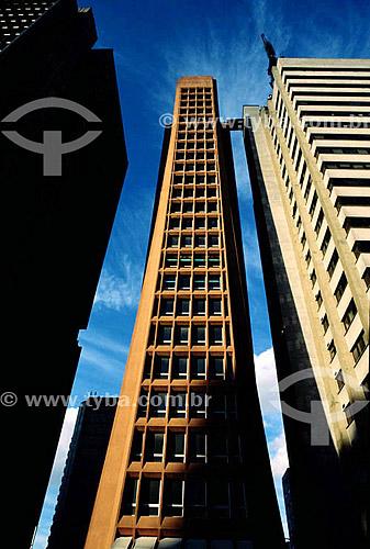 Edifícios na Avenida Paulista - São Paulo - SP - Brasil  - São Paulo - São Paulo - Brasil