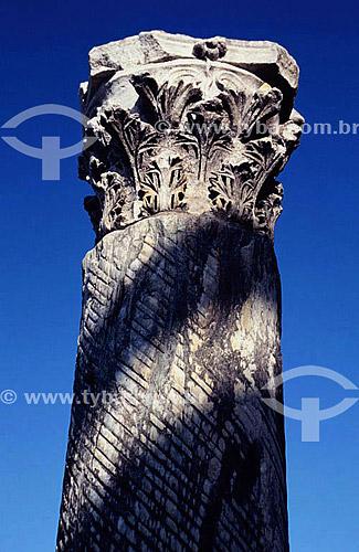 Coluna romana - Natal - RN - Brasil  - Natal - Rio Grande do Norte - Brasil