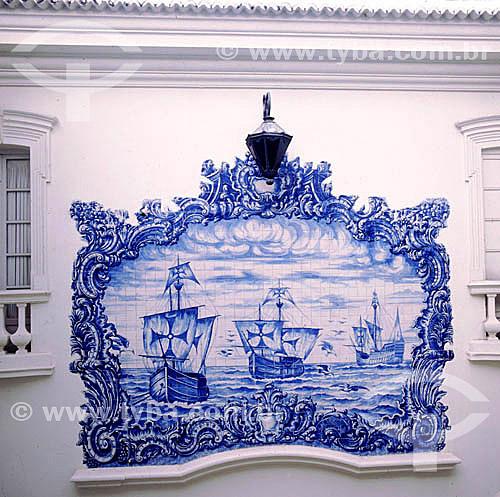Azulejos - Paraíba - PB - Brasil  - Paraíba - Brasil