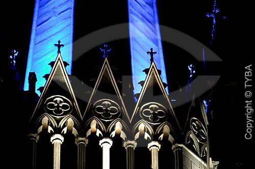 Detalhe da Catedral de Petrópolis - RJ - Brasil     - Petrópolis - Rio de Janeiro - Brasil