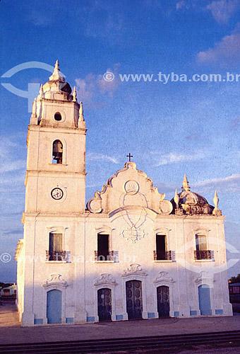 Igreja - Aracati - CE - Brasil / Data: 2007   O conjunto arquitetônico e paisagístico da cidade é Patrimônio Histórico Nacional desde 31-10-2001.