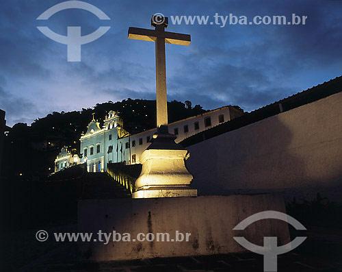 Igreja e Convento de São Bernardino de Sena e Capela dos Terceiros - Angra dos Reis - RJ - Brasil  - Angra dos Reis - Rio de Janeiro - Brasil