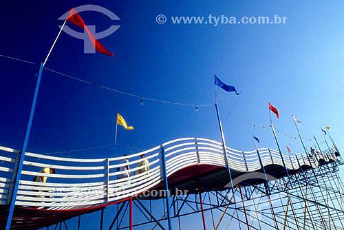 Parque de diversões - Tobogã