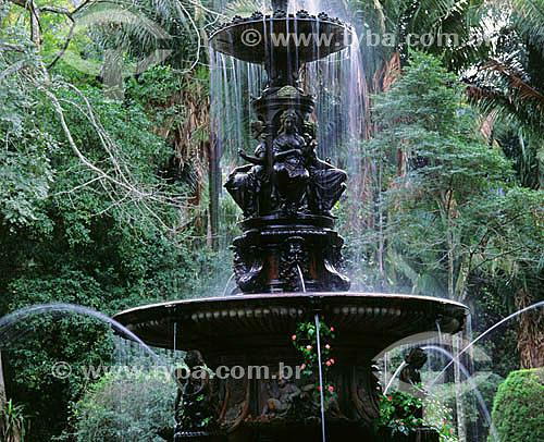 Jardim Botânico - Rio de Janeiro - RJ - Brasil  Patrimônio Histórico Nacional desde 30-05-1938.  - Rio de Janeiro - Rio de Janeiro - Brasil