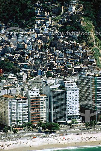 Favela Chapéu Mangueira - Leme - Rio de Janeiro - RJ - Brasil / Data: 2007