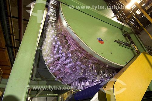 Assunto: Reciclagem do Alumínio no Brasil - Novelis / Local: Pindamonhangaba - São Paulo (SP) - Brasil / Data: 2007