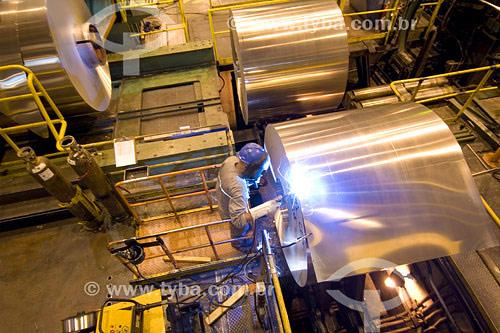 Assunto: Reciclagem do Alumínio no Brasil - Novelis / Local: Pindamonhangaba - São Paulo (SP) / Data: 2007