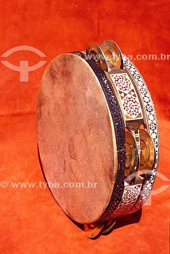 Instrumento de percussão - pandeiro