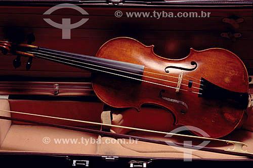Instrumento musical - violino