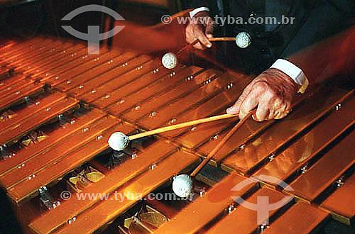 Instrumento musical - Metalofone