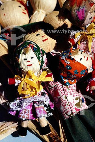 Bonecas de palha - SC - Brasil  - Santa Catarina - Brasil