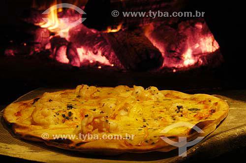 Culinária internacional de origem italiana - Pizza  - Brasil