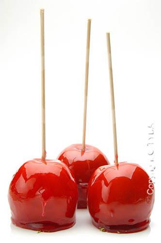 Doce - maçã-do-amor (maçã caramelizada)
