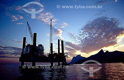 Plataforma de perfuração de petróleo - Rio de Janeiro - RJ - Brasil  - Rio de Janeiro - Rio de Janeiro - Brasil