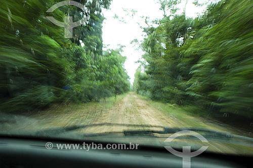 Estrada de terra - Tucuruí - PA - Brasil  - Tucuruí - Pará - Brasil