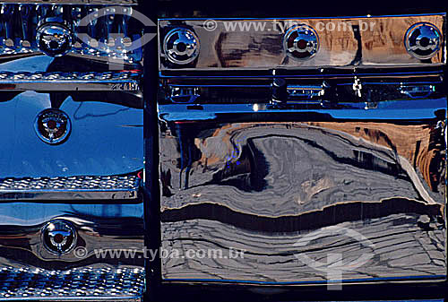 Efeito visual: detalhe de caminhão
