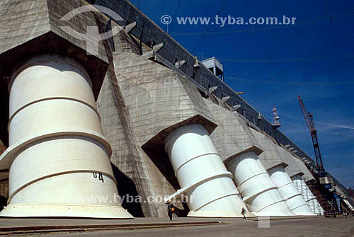 Industrial - Hidroelétrica de Itaipú - PR - Brasil  - Paraná - Brasil