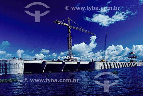 Industrial - Hidroelétrica Balbina - AM - Brasil  - Presidente Figueiredo - Amazonas - Brasil