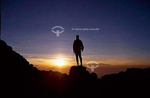 Alpinismo - escalada no Kilimanjaro (5895m) - Tanzânia - África