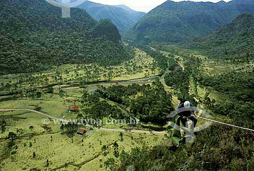 Rapel - Vale do Rio Canoas - Urubici - Santa Catarina - Brasil - Setembro de 2003  - Urubici - Santa Catarina - Brasil