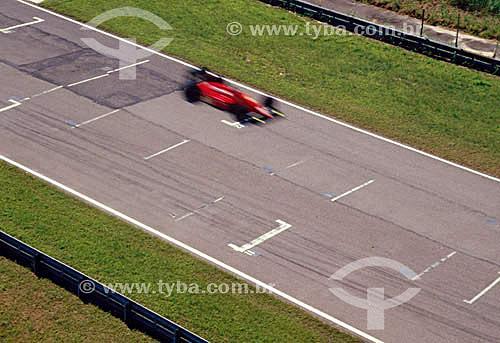 Automobilismo - carro de Fórmula 1