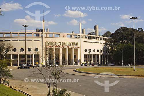 Estadio do Pacaembu - SP - SP - Brasildata : janeiro 2006  - São Paulo - São Paulo - Brasil