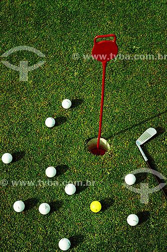 Bolas de Golf - Gávea Golf Club  em São Conrado – Rio de Janeiro - RJ  - Rio de Janeiro - Rio de Janeiro - Brasil