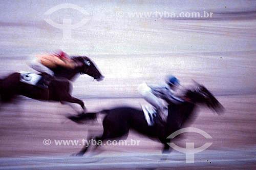 Esporte - Corrida de cavalos - Turfe - Apostas