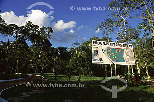 Parque Ambiental Chico Mendes - Rio Branco - Acre - maio de 2001  - Rio Branco - Acre - Brasil