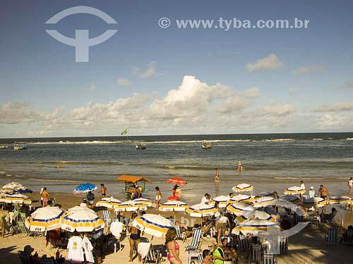 Praia do frances - Alagoas - Brasil  - Maceió - Alagoas - Brasil