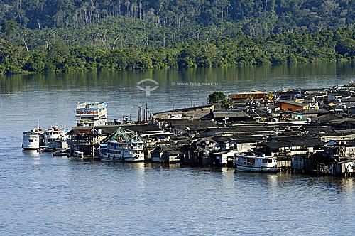 Palafitas no Laranjal do Jari - AP - BrasilData: 06/2006