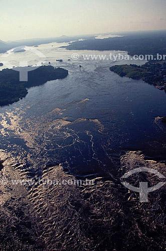 Alto Rio Negro perto de São Gabriel da Cachoeira - Amazônia - AM - Brasil  - São Gabriel da Cachoeira - Amazonas - Brasil