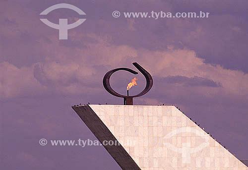 Pantheon da Liberdade de Tancredo Neves - Brasília - DF - Brasil A cidade de Brasília é Patrimônio Mundial pela UNESCO desde 11-12-1987.  - Brasília - Distrito Federal - Brasil