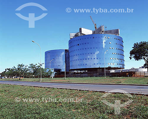 Prédio da Procuradoria Geral da República (PGR) - Brasília - DF - Brasil  - Brasília - Distrito Federal - Brasil