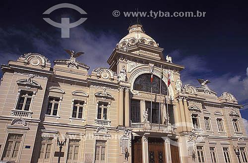 Palácio Rio Branco -  Cidade Alta - Salvador - Bahia - Brasil  - Salvador - Bahia - Brasil