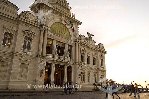 Palácio Rio Branco - Praça São Tomé de Souza - sede do governo da Bahia - Salvador - BA - Brasil  - Salvador - Bahia - Brasil