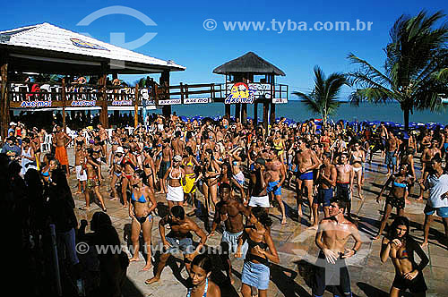 Dança - Lambaeróbica em Porto Seguro - litoral sul da Bahia  - Porto Seguro - Bahia - Brasil