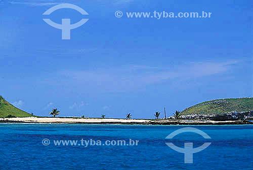 Mar e praia - Arquipélago de Abrolhos  - Bahia - Brasil  O Parque Nacional Marinho de Abrolhos foi criado em 6/04/1983.  - Caravelas - Bahia - Brasil