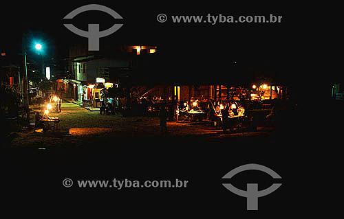 Vida noturna em Morro de São Paulo  - Cairu - Bahia - Brasil
