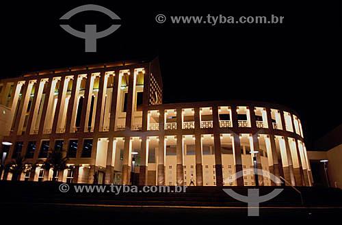 Centro Cultural Dragão do Mar à noite - Fortaleza - CE - Brasil  - Fortaleza - Ceará - Brasil
