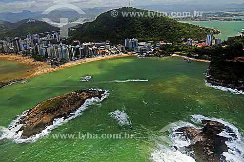 Vista aérea de Vitória - Espírito Santo - Brasil - Novembro de 2006  - Vitória - Espírito Santo - Brasil