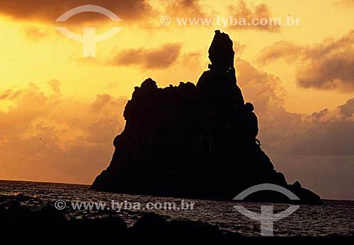 Ilha do Frade - Arquipélago de Fernando de Noronha  - PE - Brasil  O arquipélago Fernando de Noronha é Patrimônio Mundial pela UNESCO desde 16-12-2001.  - Fernando de Noronha - Pernambuco - Brasil