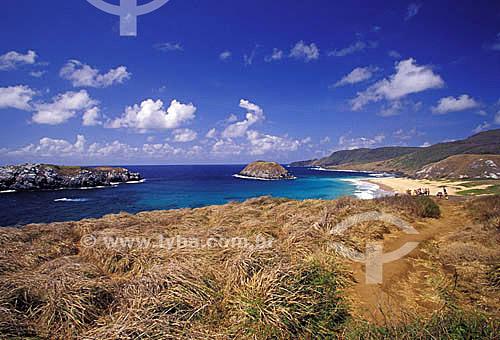 Praia do Leão - Fernando de Noronha  - PE - Brasil  O arquipélago Fernando de Noronha é Patrimônio Mundial pela UNESCO desde 16-12-2001.  - Fernando de Noronha - Pernambuco - Brasil