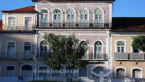 Arquitetura - Casario na Praça Benedito Leite - São Luis do Maranhão - MA - Brasil - Jul/2007  - São Luís - Maranhão - Brasil