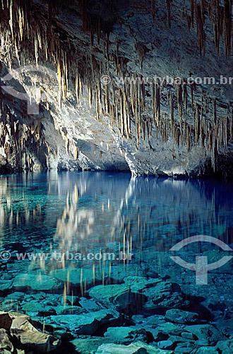 Gruta do Lago Azul  - Bonito - MS - Brasil As grutas do Lago Azul são Patrimônios Históricos Nacionais desde 01-11-1978.  - Bonito - Mato Grosso do Sul - Brasil