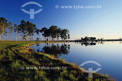 Lago do Indaiá - Dourados - MS - Brasil  - Dourados - Mato Grosso do Sul - Brasil