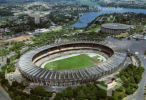 Futebol - Estádio do Mineirão -  Belo Horizonte - Minas Gerais - Brasil - Data: 2002